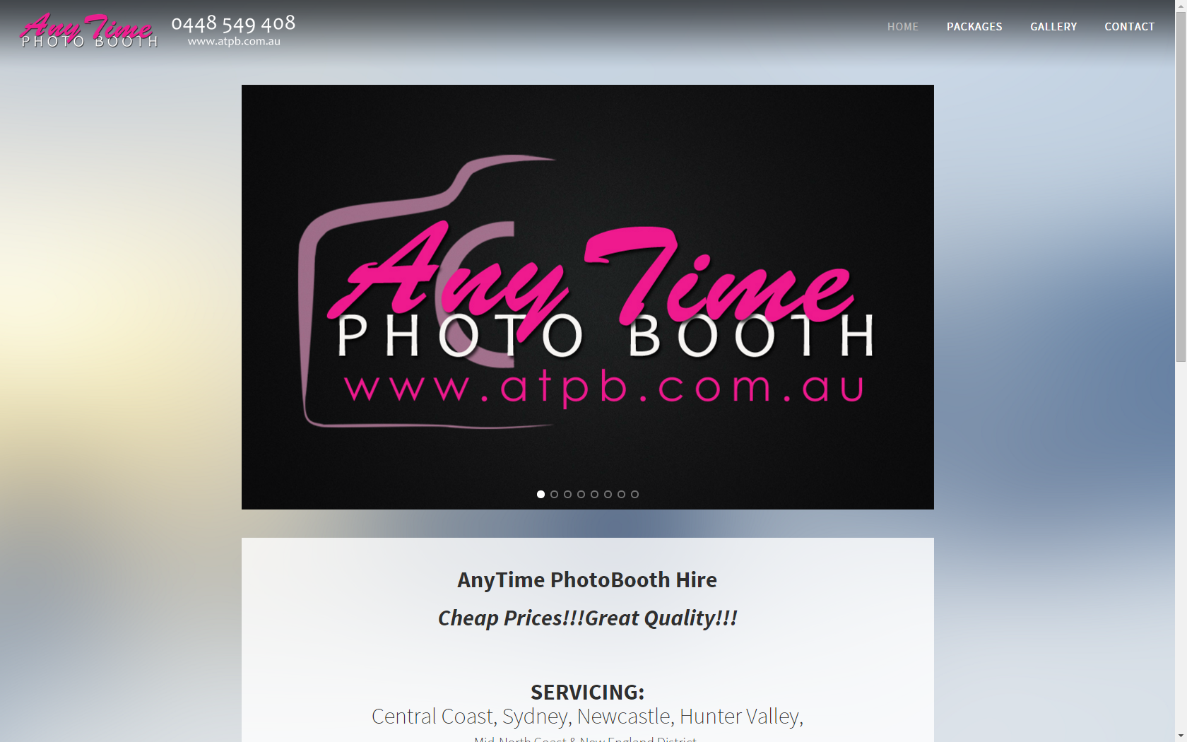 Any Time Photo Booth