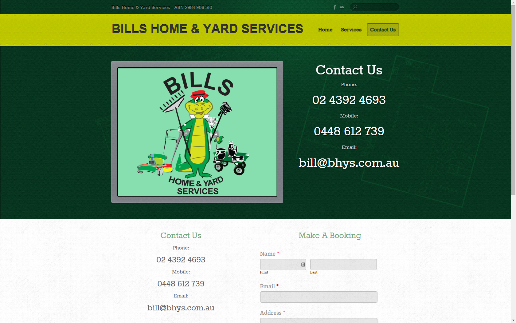 Bills Home and Yard Services