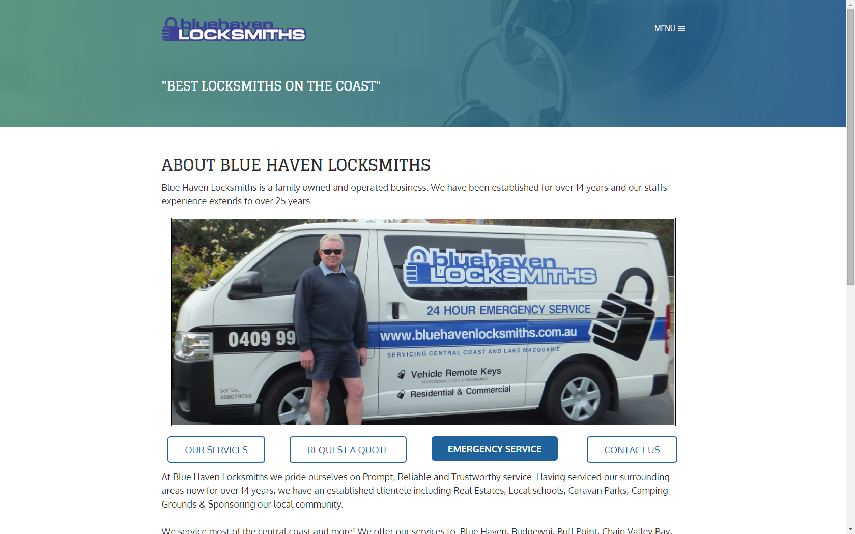 Blue Haven Locksmiths